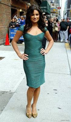 Body con green in New York