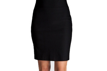 Pull-on pencil skirt from CharlotteRusse.com, $16.99