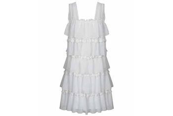Chiffon and lace swing dress from Forever21.com, $29.50