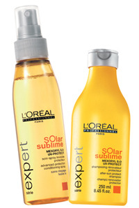 L'Oreal Expert Solar Sublime hair products