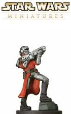 This fig of a Seperatist Commando is a sneak peek from the Star Wars Miniatures Revenge of the Sith expansion set, based on the Star Wars Episode III movie!