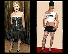 Once again, Britney Spears and Kelly Osbourne have managed to make our worst dressed list!