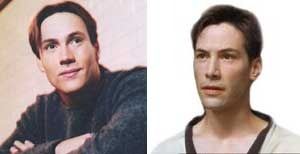 Could Chris Klein and Keanu Reeves be celebrity twins?  Were they separated at birth?