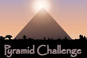 Pyramid Challenge lets you build your very own ancient Egyptian pyramid!