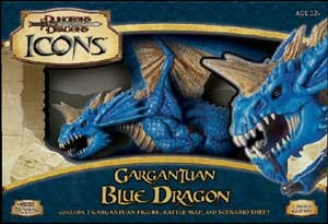 The upcoming Gargantuan Blue Dragon is a cool-looking monster that won't eat your cat. Honest.