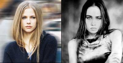 Avril Lavigne photo: Courtesy of BMG.