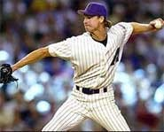 Randy Johnson of the Arizona Diamondbacks is a favorite to win his fourth straight Cy Young Award.