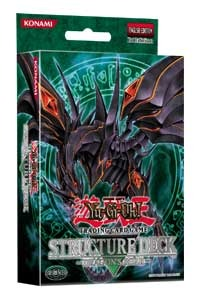 Yu gi oh card game news structure deck flaming for Dark world structure deck amazon