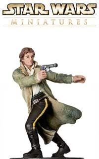 Han Solo, Rebel Hero is the captain of the Millennium Falcon, a bit of a trouble maker and friends with the Wookie Chewbacca.