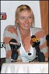 Tennis stars Maria Sharapova and James Blake play 2k Sports' Top Spin 3 for DS, Xbox 360, PS3 and Wii!