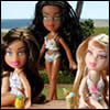 Bratz Beach Bash Dolls