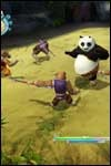 Unleash your kung fu skills with your friends in Kung Fu Panda: Legendary Warriors for Nintendo Wii!