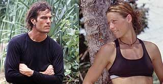 Robb Zbacnik and Stephanie Dill. Sook Jai tribemates on Survivor 5 Thailand