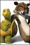 Meet the crazy critters from Over the Hedge with these preview pics!