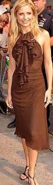 Sarah Michelle Gellar in Versace