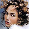 Jennifer Lopez looks classy with her curly 'do.