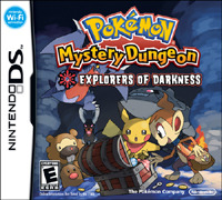 Pokemon Mystery Dungeon: Explorers of Darkness for the Nintendo DS.