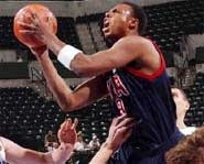 Paul Pierce of the United States basketball team.