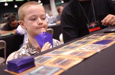 The 2004 Yu-Gi-Oh! TCG World Championships Tournament brought the best players from all over the world!
