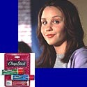 Moisturize your lips the Amanda Bynes way, with Chapstick brand lip balm.