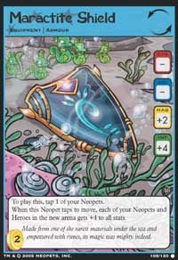This new Equipment card has arrived to protect all of Neopia. Check out this Neopets Trading Card Game preview from Wizards of the Coast!
