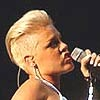 Pink has trouble maintaining her mohawk.