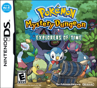 Pokemon Mystery Dungeon: Explorers of Time for the Nintendo DS.