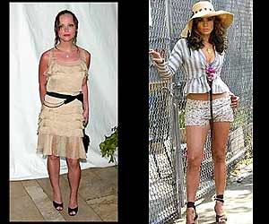 Christina Ricci and J. Lo were walking fashion disasters in 2002.