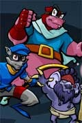 Join Sly Cooper and the gang in Sly 3: Honor Among Thieves for the PS2