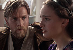 Natalie Portman and Ewan McGregor star in Star Wars Episode III: Revenge of the Sith.