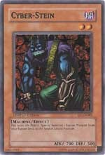 There are only two Yu-Gi-Oh! Cyber-Stein cards!