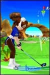 Play golf as Chun-Li in We Love Golf for Nintendo Wii!
