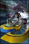 Check out these pics of the Sonic Riders: Zero Gravity racing game!