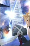 These Kingdom Hearts II Playstation 2 video game preview pics show you the action and adventure with Sora, Donald, Goofy, Lilo, Tron, Jafar, Cloud, Sephiroth and more!