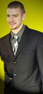 Justin Timberlake won three moonmen at the 2003 MTV VMAs