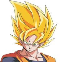 Goku the Super Saiyan warrior from the Dragonball Z anime and video game series is going to kick butt!