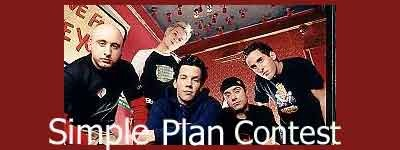 Enter the contest to WIN a Free Simple Plan CD and Poster!