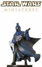 This fig of a Senate Guard is a sneak peek from the Star Wars Miniatures Revenge of the Sith expansion set, based on the Star Wars Episode III movie!