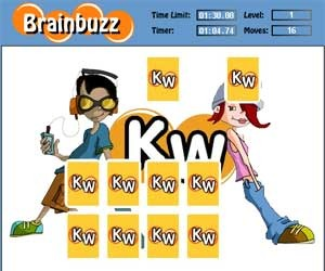 Test your brain with the free online game, Brain Buzz!