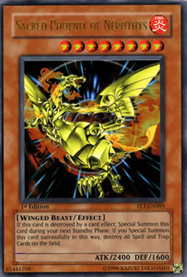 Yu-Gi-Oh! Trading Card Game   Flaming Eternity Review   Sacred Phoenix ...