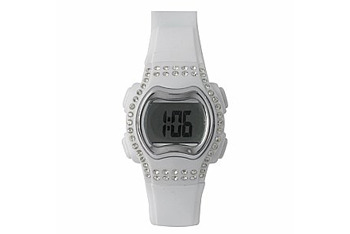 Digital rubber watch from NewLook.com, $8