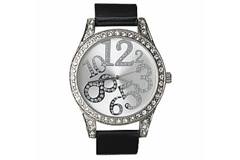 Diamante jumble watch from NewLook.com, $24