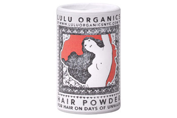 Lulu Organics Lavender and Clary Sage Hair Powder from SaffronRouge.com, $11.50