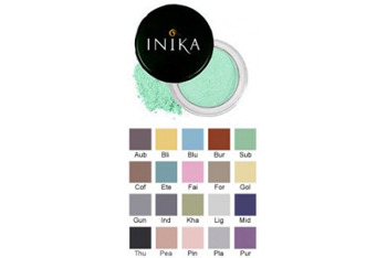 Inika mineral eyeshadow in Mint from Naturisimo.com, $13