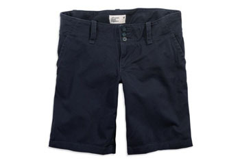 Favorite bermuda shorts from American Eagle, $35.50 in navy