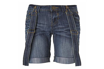 Brace denim shorts from NewLook.com, $20