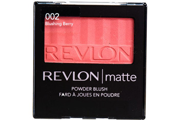 Revlon matte blush in Blushing Berry, $9.99