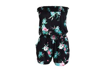Lindsey floral romper from Delias.com, $39.50