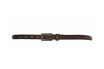 Skinny stud belt in brown from NewLook.com, $8