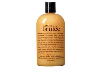 Philosophy Creme Brulee Body Wash from Philosophy.com, $16